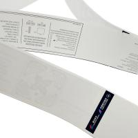 China RFID UHF Impinj H47 Airline Luggage Stickers Label Tag / Luggage Identification Stickers on sale