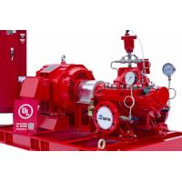 China NFPA 20 500 GPM Electric Motor Driven Fire Pump UL Listed FM Approved with High Pressure on sale