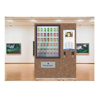 Best Fruit Salad Vending Machine , Elevator Vending Machine Refrigerator Custom Income Report Management wholesale