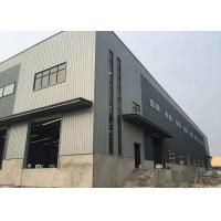 China Custom Prefabricated Steel Structure Warehouse Metal Garage Building Galvanized Surface on sale