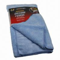China Microfiber Towels, Eco-friendly, Widely Used in Auto and Home Cleaning on sale
