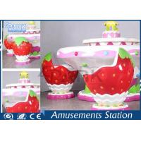 Cheap Kids Indoor Playground Equipment Amusement Game Machines Strawberry Sand Table for sale