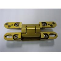 Best Chrome Painted / Gold Painted 3D Adjustable Concealed Hinge 135x18x21 mm wholesale