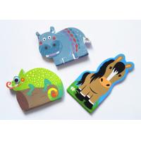 Best Promotional Custom Sticky Notes Animal Shaped C2S Glossy Art Paper Cover wholesale