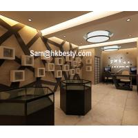 Buy cheap manufacture of jewelry kiosk used jewelry display furniture glass jewelry showcase product