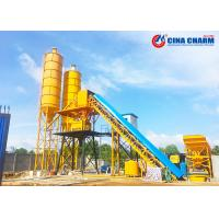 Buy cheap Rmc Stationary Concrete Batching Plant 3000mm Soil Diameter 50mm Pneumatic Valve from wholesalers
