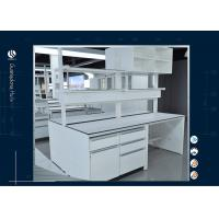 Best Phenolic Resin Tops Chemistry Lab Furniture With Hanging Cabinets wholesale