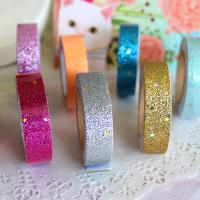 Best Prisamatic High Quality Custom Adhesive Glitter Tape For Handicrafts Decoration wholesale