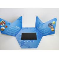 Best Rechargeable Video In Print Brochure , custom lcd video brochure card for promotion wholesale
