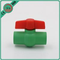 Best Multipurpose Plastic Ball Valves And Fittings Smooth Internal Surface wholesale