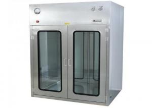 Best ISO Approved Observation Window Cleanroom Pass Box For Precise Instrument wholesale