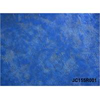 Best Foiled and Embossed pu leather with woven backing for shoes and bags wholesale