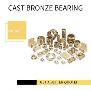 Best Extra Heavy Duty, High Strength Alloy Cast Bronze Inch Bearings With Embedded Solid Lubricant Oiles wholesale