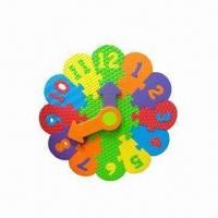 Best EVA Educational Puzzle Clock, Customized Shapes and Colors are Welcome wholesale