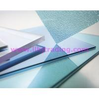 China Flat Solid Polycarbonate Sheet 10 Years Guarantee on sale