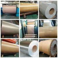 Best A1100 3003 Alloy Colored Aluminum Foil Sheets Pre - Painted Roller - Coating For Building Material wholesale