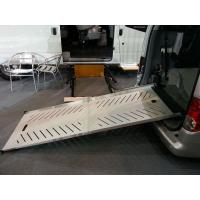 China Electric Wheelchair Ramp For Van Aluminum Loading Ramp Loading 350KG on sale