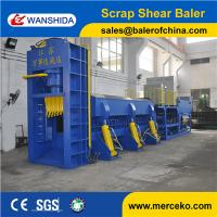 Best Hydraulic Baler Shear For Scrap Metal Car Bodies Shell Waste Pipes 630Ton Cutting Force Y83Q-6300C wholesale