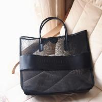 Best promotional Clothes Toys Carry All Sand Away Beach Bag Mesh Tote Bag wholesale