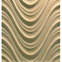 China 3D Cnc Artificial Stone Wave Panel on sale