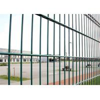 Best 656 RAL 6005 Outdoor Double Loop Wire Fencing Heavy Duty Smooth Surface wholesale