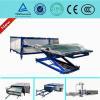 Best Autoclave Free EVA  Curved Glass Laminating Machine / Automatic Laminated Glass Machine wholesale