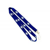 China Eco - Friendly Sublimation Custom Polyester Lanyards Single J Hook Accessories on sale