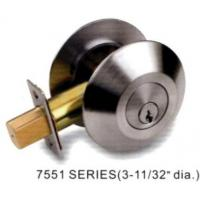 China Forged brass Commercial Deadbolt lock 7500 series (ANSI Grade 2) on sale