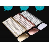Best Factory 2.4G Mini Wireless Keyboard Kit for Android Apple System  K108 Chocolate Keyboard mouse 2018 south america wholesale