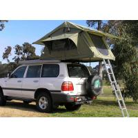 Best Fireproof 4 Person Roof Top Tent , Folding Roof Tent With Large Window wholesale