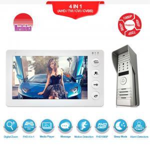 China Morningtech 7 Inch manual Button Video Door Phone ,intercom door opening system HD doorbell on sale