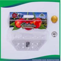 Cheap Recyclable Plastic Custom Printed Packaging Bags for Food / Garments / Grocery for sale