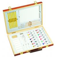Best Professional Childrens Art Set Wooden Box , Durable Artist Acrylic Paint Box Set wholesale