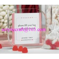 Best Beautiful Transparent Acrylic Photo Frame with Magnet Plexiglass Picture Frame wholesale