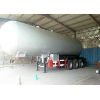 Best Tri Axles LPG Tank  Semi Trailer For 59000Liters  Liquid Petrol Gas, Butane , Propane Transport wholesale