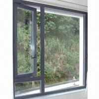 Best Aluminum Casement Window with Top Chinese Hardware wholesale