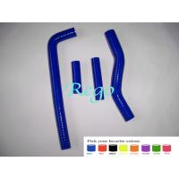 Best Custom Molded Silicone Radiator Hoses Replacement Oil Resistant Blue Color wholesale