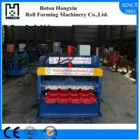 Best Professional Tile Roll Forming Machine , Automatic Roof Tile Roll Forming Machine wholesale