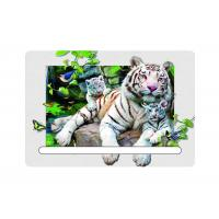Buy cheap 0.6mm Pet 5d Attractive White Tiger 7x11cm Magnets With Notepad For Refrigerator from wholesalers