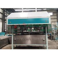 Best PLC Control Pulp Tray Machine With Double Reciprocate / Working Stations wholesale