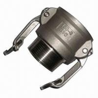 Stainless Steel Kamlock Coupling, Cam and Groove Quick Fitting, SS316 Coupler Male Thread