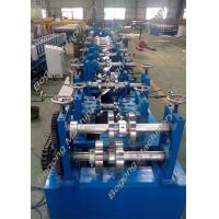 Best Custom Metal C And Z Purlin Machine 30 - 80mm Flange High Grade Steel Shaft wholesale