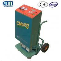 China R134A / R22 Car Refrigerant Recovery Machine , Metal A/C Refrigerant Recovery System on sale