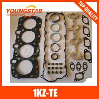 Best High quality 1KZ-TE engine full gasket set used for TOYOTA diesel engines parts ; wholesale