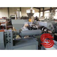 PE PP PVC EVA PA single wall corrugated pipes machine , pipes as electric wire protection pipe under ground