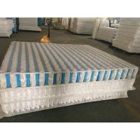 Best High Carbon Steel Wire Mattress Pocket Spring Unit With Non Woven Fabric Cover wholesale