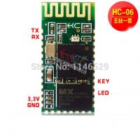 China HC-06 Bluetooth serial module ,connected microcontroller 51 CSR wireless passthrough modul on sale