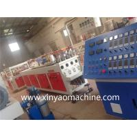 China XINYAO Twin Screw PVC Pipe Extrusion Line One Mould with Four Die Cavity on sale