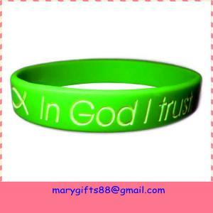 Best cheap custom magnetic silicone bracelet wholesale