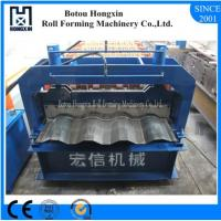 Best Aluminum Plate Cold Roll Forming Machine Hydraulic Pump 828mm Cover Width wholesale